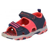 ALPINE PRO CLAINO červená 31 - Detská letná obuv