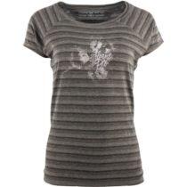 ALPINE PRO DAVA 2 šedá M - Dámske tričko