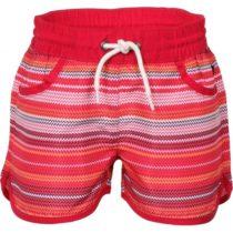 ALPINE PRO DOORO červená 104-110 - Detské šortky