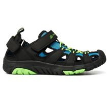 ALPINE PRO EAKY modrá 28 - Detská letná obuv