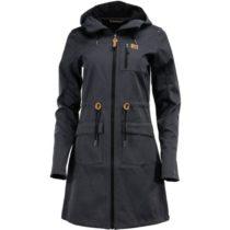 ALPINE PRO GALLERIA 2 tmavo šedá M - Dámsky softshellový kabát