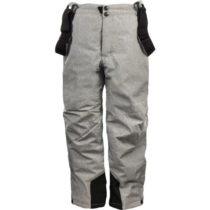 ALPINE PRO GUSTO sivá 164-170 - Detské lyžiarske nohavice