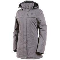ALPINE PRO HADECA 2 šedá XS - Dámsky kabát