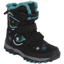 ALPINE PRO KABUNI čierna 32 - Detská zimná obuv