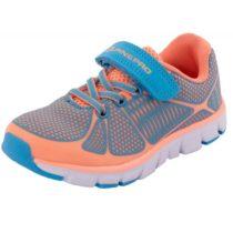 ALPINE PRO FISCHERO oranžová 34 - Detská športová obuv
