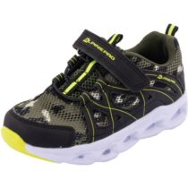 ALPINE PRO BERTO zelená 28 - Detská športová obuv