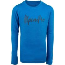 ALPINE PRO CAMRO modrá 140-146 - Detské tričko