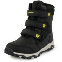 ALPINE PRO KURTO biela 34 - Detská zimná obuv
