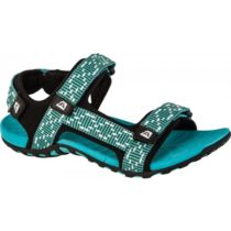ALPINE PRO LAUN zelená 36 - Dámske sandále