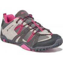 ALPINE PRO MAGGOTT tmavo sivá 37 - Dámska trekingová obuv