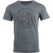 ALPINE PRO RHYS šedá S - Pánske tričko