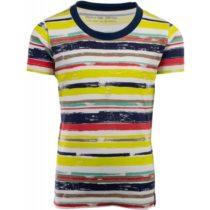 ALPINE PRO NEPRO žltá 104-110 - Detské tričko