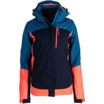 ALPINE PRO OMARA tmavo modrá XS - Dámska lyžiarska bunda