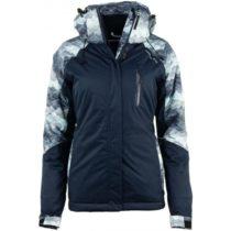 ALPINE PRO RIANA tmavo modrá M - Dámska lyžiarska bunda