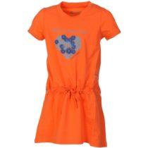 ALPINE PRO TANGERINO  116-122 - Dievčenské šaty