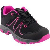 ALPINE PRO THEO ružová 30 - Detská outdoorová obuv