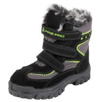 ALPINE PRO TIMBER čierna 29 - Detská zimná obuv