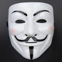 Anonymous maska Vendetta - biela