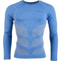Arcore CESAR modrá XXL - Pánske funkčné tričko s dlhým rukávom