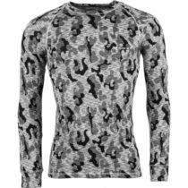 Arcore ERNO šedá M - Pánske termo tričko s dlhým rukávom
