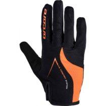 Arcore HIVE oranžová S - Dlhoprsté cyklistické rukavice