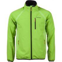 Arcore MARCUS zelená M - Pánska softshellová bunda