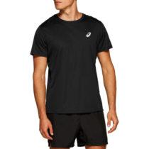 Asics SILVER SS TOP čierna XXL - Pánske bežecké tričko