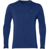 Asics SEAMLESS LS modrá M - Pánske športové tričko