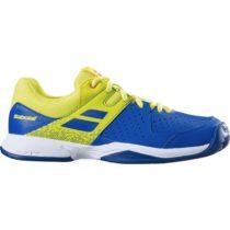 Babolat PULSION JR CLAY žltá 5 - Juniorská tenisová obuv