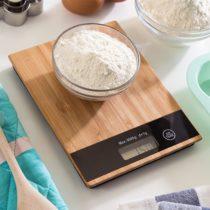 Bambusová digitálna kuchynská váha 5 kg