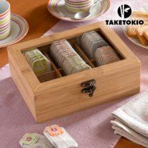 Bambusová krabička na čaj TakeTokio