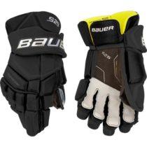 Bauer SUPREME S29 GLOVE JR čierna 10 - Hokejové rukavice