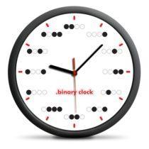 Binárne hodiny - bodky