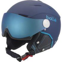 Bolle BACKLINE VISOR tmavo modrá (59 - 61) - Lyžiarska prilba