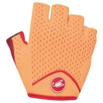 Castelli TESORO W GLOVE oranžová S - Dámske rukavice