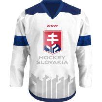 CCM JR HOKEJOVÝ DRES SLOVAKIA biela XS - Juniorský hokejový dres
