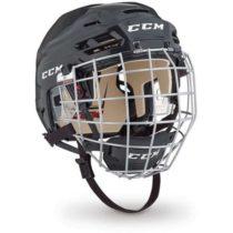 CCM TACKS 110 COMBO SR čierna (50 - 54) - Hokejová prilba