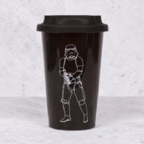 Cestovný keramický hrnček Original Stormtrooper - čierny