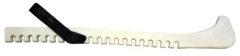Chrániče nožov WORKER zimných korčúľ biele (pár)