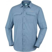 Columbia IRICO MENS LONG SLEEVE SHIRT modrá S - Pánska košeľa