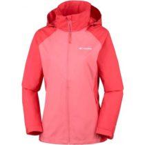 Columbia TAPANGA TRAIL JKT červená S - Dámska nepremokavá bunda