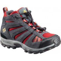 Columbia CHILDREN NORTH PLAINS MID WP červená 12 - Detská zimná outdoorová obuv