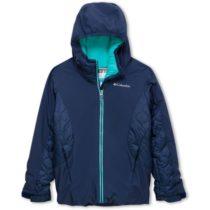 Columbia WILD CHILD JACKET modrá M - Chlapčenská zimná bunda
