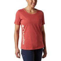 Columbia CSC W PIGMENT TEE červená S - Dámske tričko