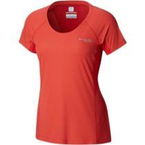 Columbia TITAN ULTRA II SHORT SLEEVE červená XS - Dámske športové tričko