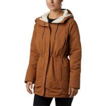 Columbia SOUTH CANYON SHERPA LINED JACKED hnedá S - Dámska outdoorová bunda