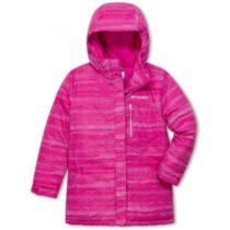 Columbia ALPINE FREE FALL II JACKET ružová XL - Dievčenská zimná bunda
