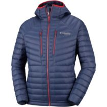 Columbia ALTITUDE TRACKER HOODED JACKET sivá XL - Pánska bunda
