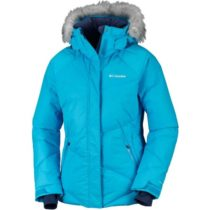 Columbia LAY D DOWN JACKET modrá XL - Dámska zimná bunda