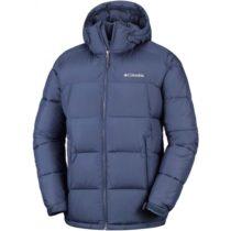 Columbia PIKE LAKE HOODED JACKET tmavo modrá XL - Pánska bunda